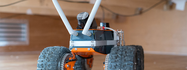 Q-bot floor insulation robot