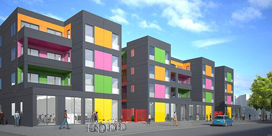 Rogers Stirk Harbour + Partners design for Lewisham council